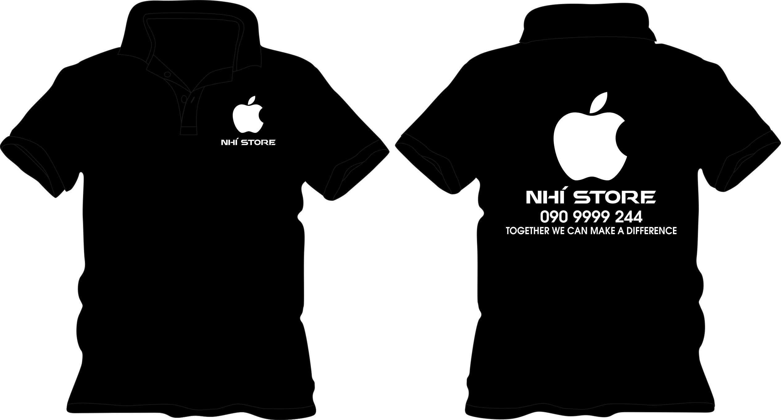 Đồng phục của hàng Iphone